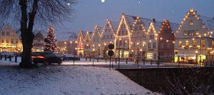 Weihnachtliches Friedrichstadt mit Adventsmenü