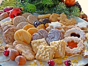Rund um die Weihnachtsbäckerei